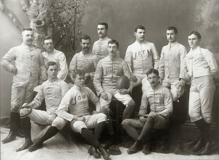 The 1887 Michigan Wolverines Football Team. The team compiled a 5–0 record and outscored its opponents by a combined score of 102 to 10. The 1887 season capped three consecutive undefeated seasons in which Michigan won its games by a combined three-season total of 258 to 10. The captain of the 1887 team was John L. Duffy.
