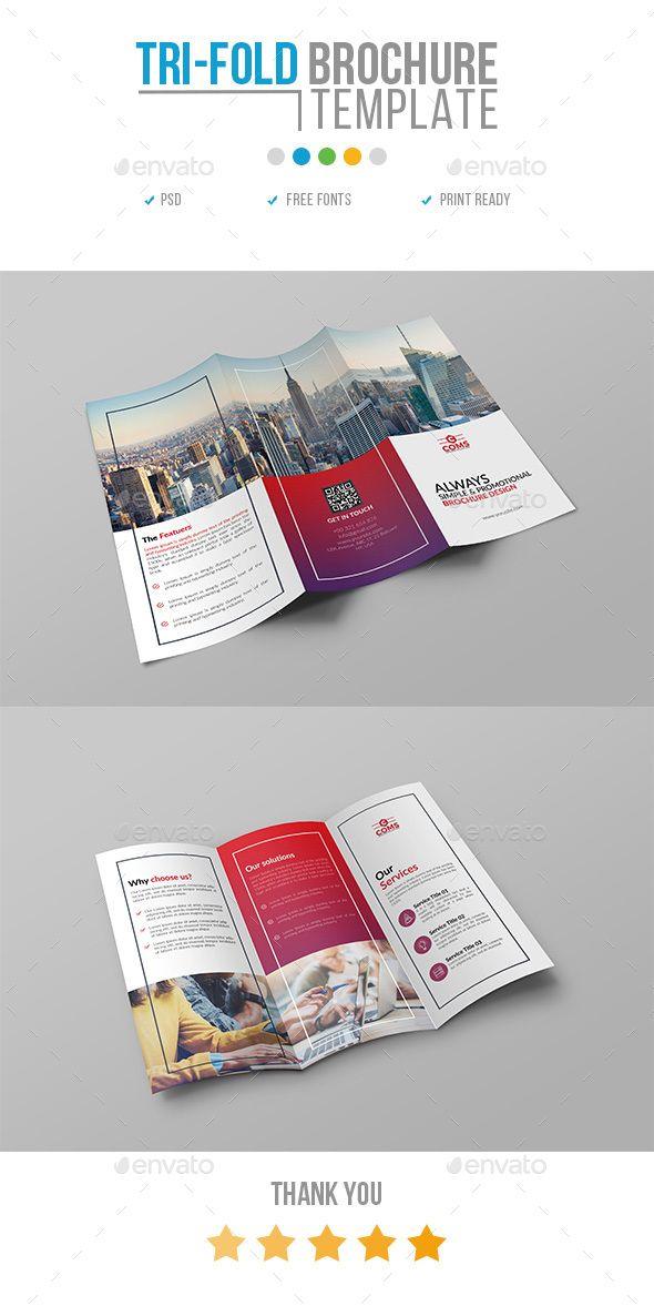 The  Best Tri Fold Brochure Design Ideas On   Leaflet
