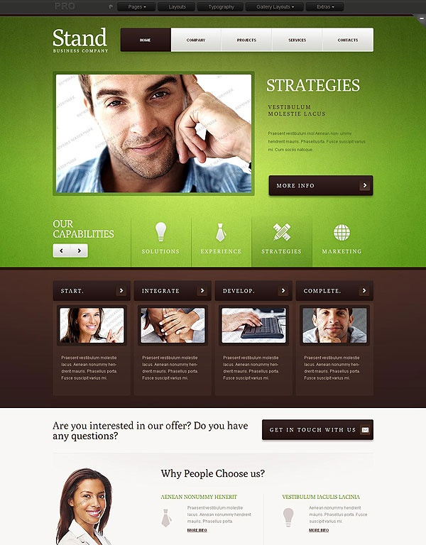 Website Templates 23 Best Web Templates Images On Pinterest  Design Websites Site