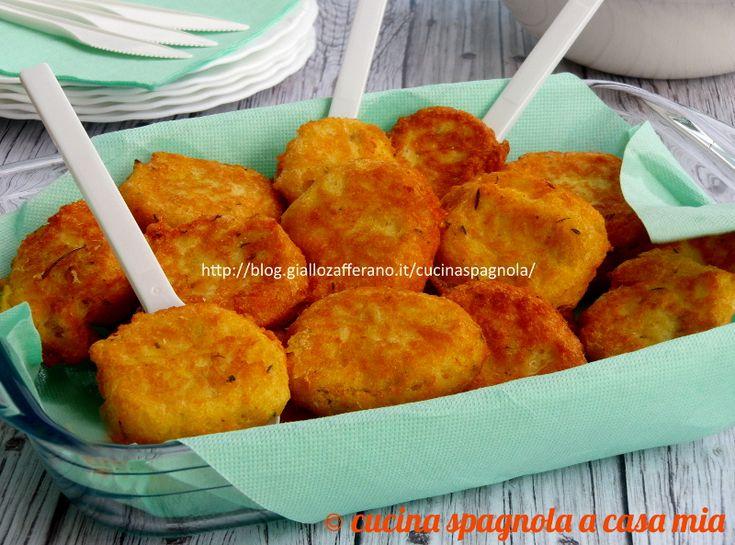 Le crocchette di baccalà e patate: una ricetta facile e gustosa per usare lo stoccafisso ammollato in pezzi. Ricetta senza besciamella.