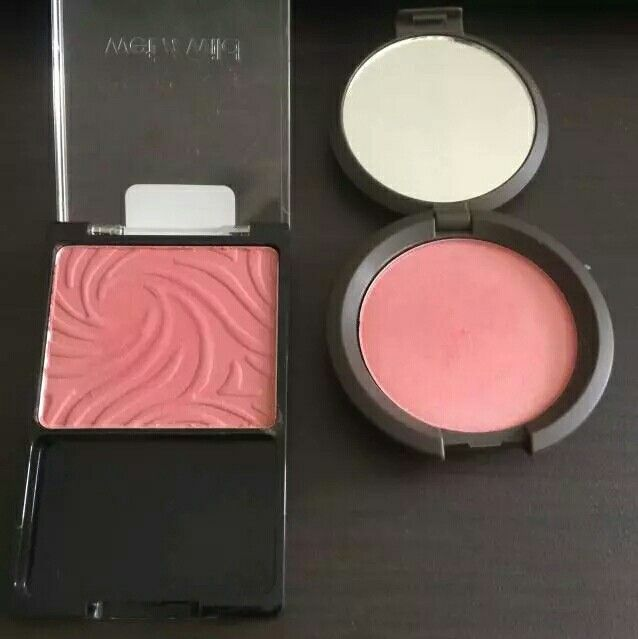 Becca flowerchild dupe: The Wet & Wild blush in Pearlescant Pink in a dupe for the Becca mineral blush in Flowerchild!