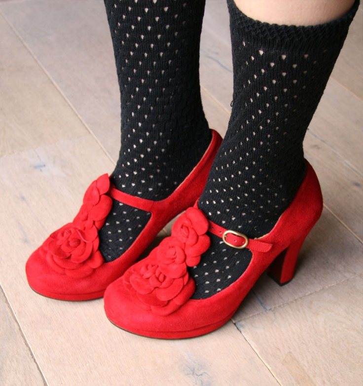 SOUR RED :: SHOES :: CHIE MIHARA SHOP ONLINE
