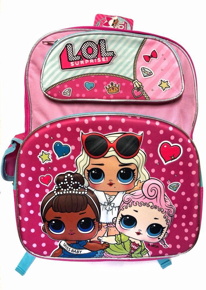 bd295d682eb3 LOL Dolls Backpack L.O.L LoL Surprise Dolls  fashion  clothing  shoes   accessories