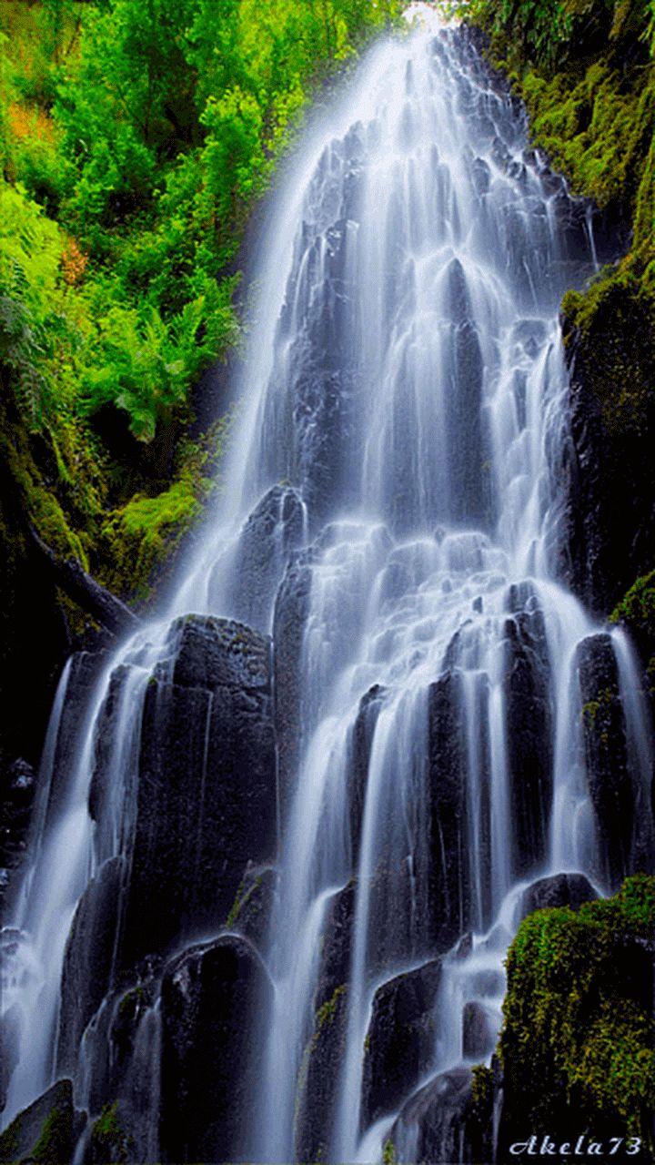 Анимированный водопад картинка