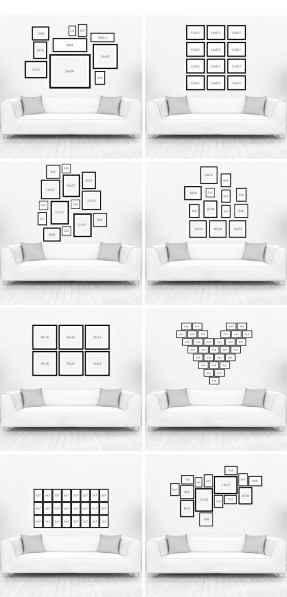 Mur de cadre et télévision – Blog Deco