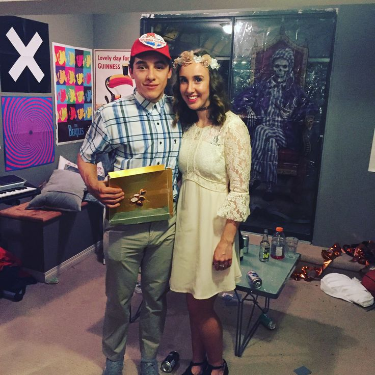 Forest Gump and Jenny costume