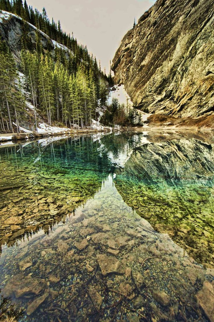 Grassi Lake by Aydin Odyakmaz at Canmore Alberta Follow @travelgurus for the best Tumblr landscapes