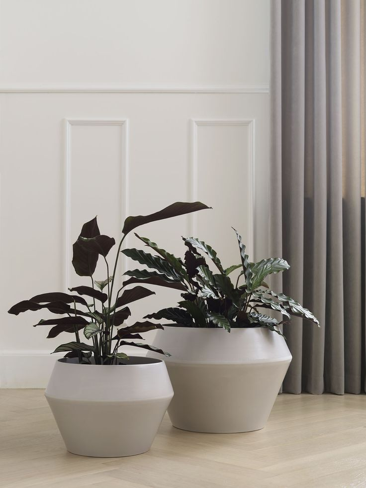 Rimm flowerpots and vases have a stringent, modernistic form and expression with…