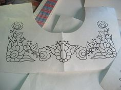 Designing Embroidery For Mexican Peasant Blouse - vma.