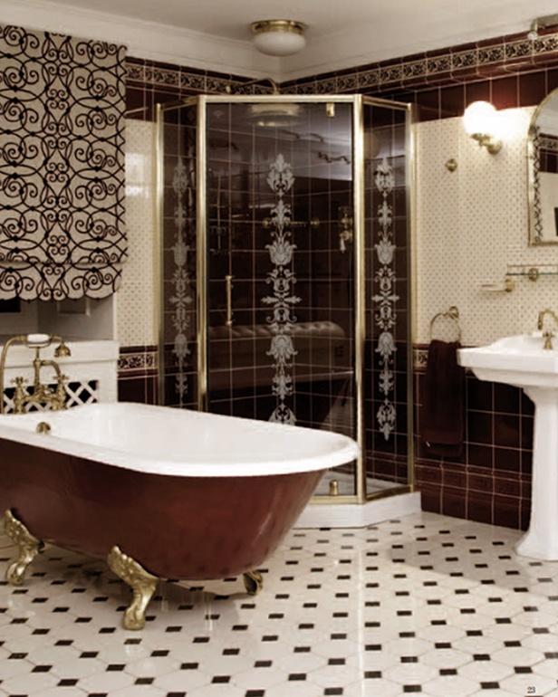 Edwardian Bathroom Tiles Wonderful Green Edwardian Bathroom Tiles