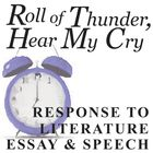 essay questions on roll of thunder : who wrote roll of thunder, hear my cry, where does the story take place, how many siblings does cassie(the protagonist) have , is cassie the oldest.