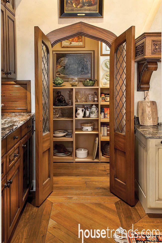 Artwork on the pantry walls guarantees these doors will always be open. | Artful Living | Pinterest | Artworks Hardware and The ou0027jays & Artwork on the pantry walls guarantees these doors will always be ... pezcame.com