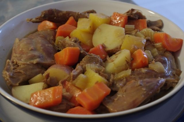Newfoundland Recipes-Rabbit Stew2-www.saltjunk.com