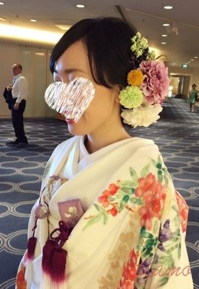 Vera Wangから色打掛へと大変身♡幸せホテルウエディング | 大人可愛いブライダルヘアメイク 『tiamo』 の結婚カタログ