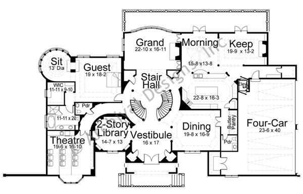 1000 Images About Floor Plan On Pinterest Luxury House