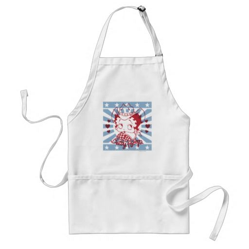 iBoop Country Square with Red Outline. Regalos, Gifts. #delantal #apron
