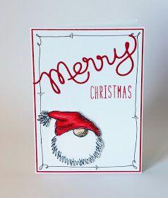 Jetzt habt ihr mich soweit.  Ich find's ja immer noch ein bisschen früh für Weihnachtskarten, aber durch meine Blog-Surferei bin ich jetzt d…