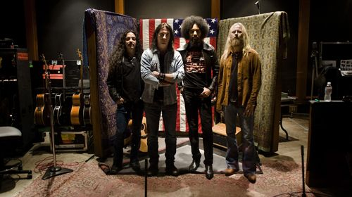 VERSION 2009: Mike Inez, Sean Kinney, William DuVall, Jerry Cantrell.