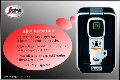 Váš nový kamarád - Kapslový kávovar My Espresso.