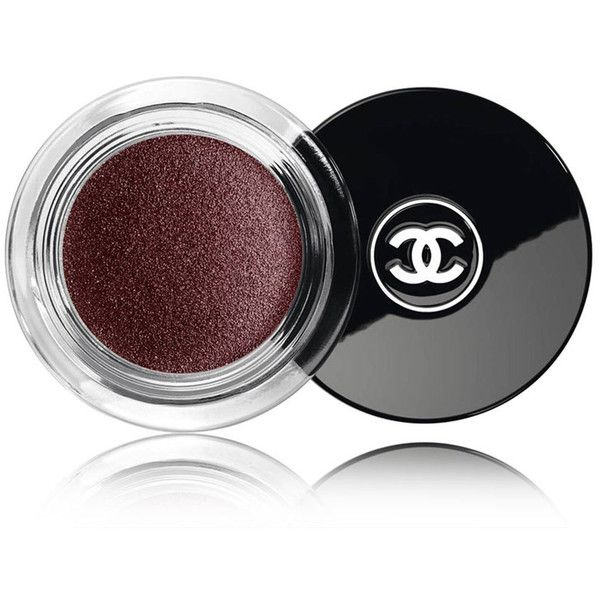 CHANEL ILLUSION D'OMBRE  - COLLECTION VAMP ATTITUDELong Wear Luminous... ($36) ❤ liked on Polyvore featuring beauty products, makeup, eye makeup, eyeshadow, beauty, cosmetics, eyes, chanel eye-shadow, shimmer eyeshadow and chanel