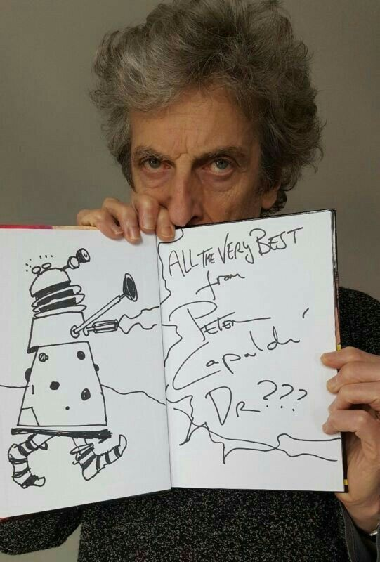 Come on! How can people not LOVE him as the doctor?! I love Peter Capaldi's doctor!
