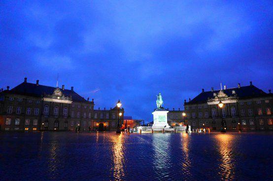 Copenhagen - Amalienborg Slotsplads