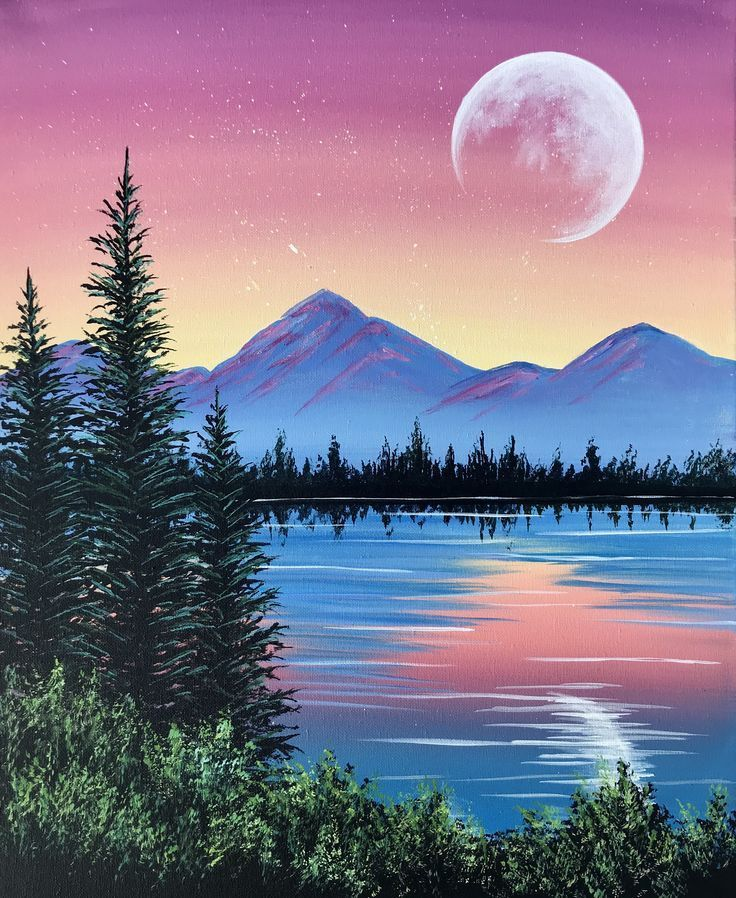 Peaceful Pine Lake Peaceful Peaceful Pine Lake Indianpaintings Lake Oilpaintings Paintings Peaceful Pine 2020 Tuval Sanati Resimler Tuval Resimleri