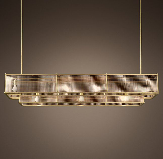 Linear Dining Room Lighting: Linear Chandelier, Vista Lighting, Home Decor