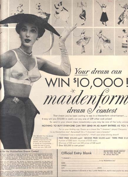 "100 best images about The remarkable Maidenform ""I Dreamed ... - photo#39"