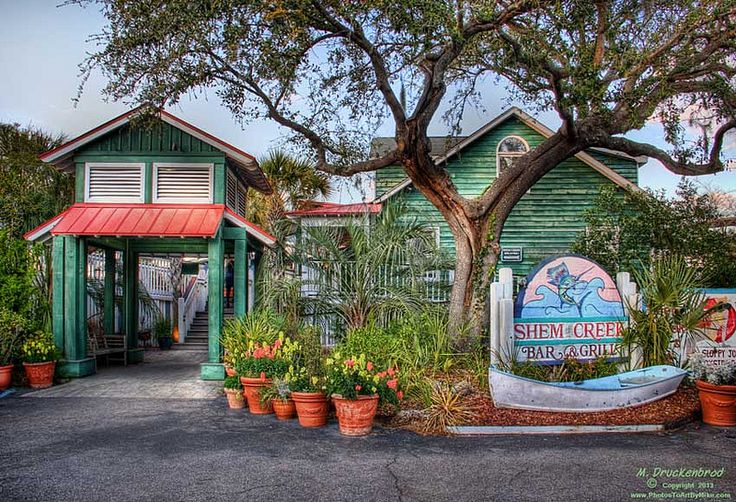Shem Creek Bar & Grill, a Waterfront Restaurant in Mount Pleasant SC | by PhotosToArtByMike