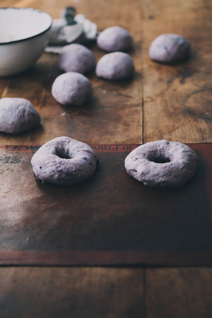 Blueberry bagels | Always with butter
