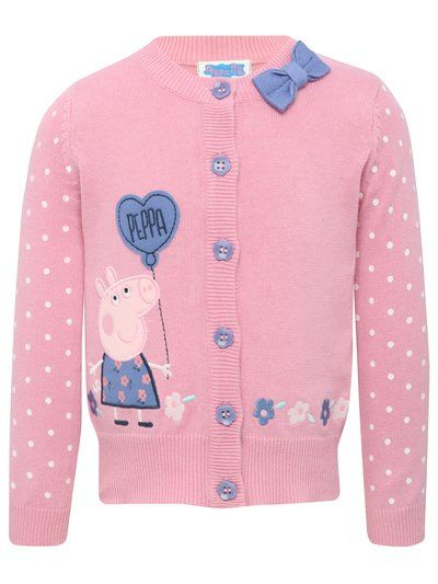 Gorgeous Peppa Pig knitted cardigan. - M&CO