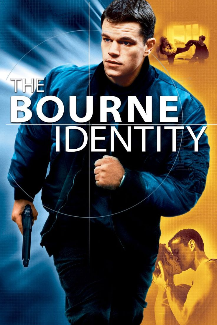 """The Bourne Identity - """"Expertly blending genre formula with bursts of unexpected wit, The Bourne Identity is an action thriller that delivers -- and then some."""""""