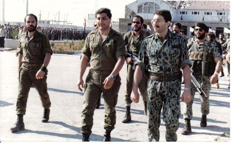 LEBANESE FORCES. CHRISTIAN MILITIA. KATAEB.