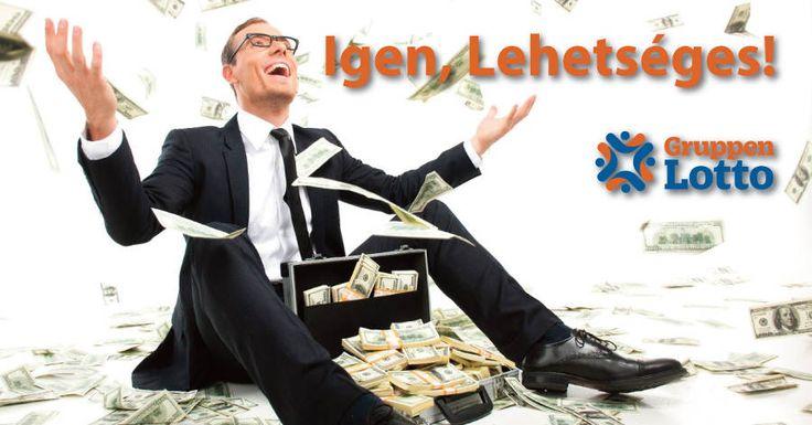 Regisztráció a csoportos lottó oldalra - GruppenLotto