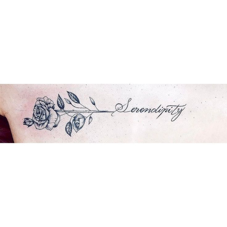 "72 curtidas, 3 comentários - Isabella Santos (@isabellatattoo) no Instagram: ""Eu amei essa tattoo  #serendipity #lettering #fineline #finelinetattoo #blackwork #simple…"""