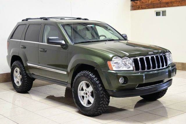 2006 Jeep Grand Cherokee Limited 4dr Suv 4wd W Front Side Airbags