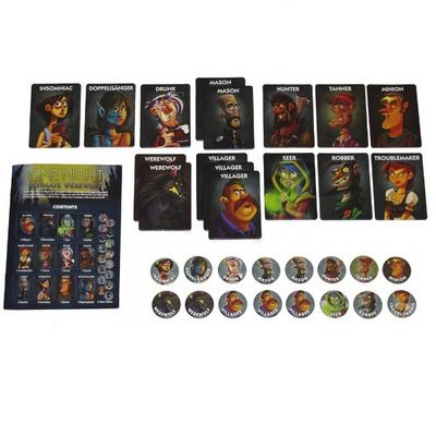Find One Night Ultimate Werewolf Board Game : Inc. Publisher Services ( 689070013563 )  and browse other popular gift items in Games gifts at Booksamillion.com, Books-A-Million's online book store