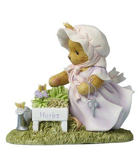 Cherished Teddies Herb Garden Figurine | zulily