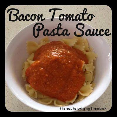 Bacon and Tomato Pasta Sauce