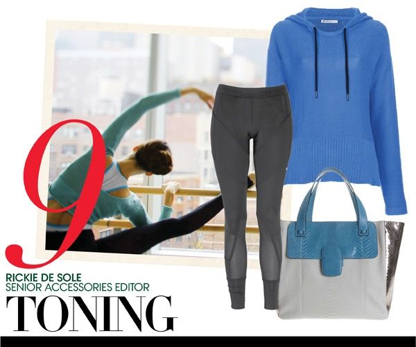 Let's work out like a Vogue editor