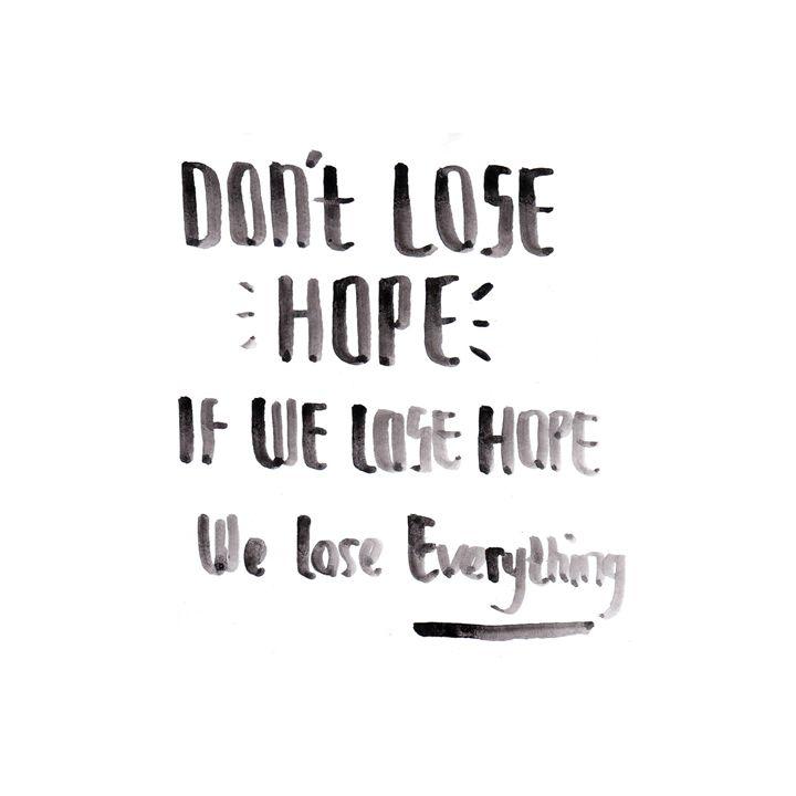 #hope