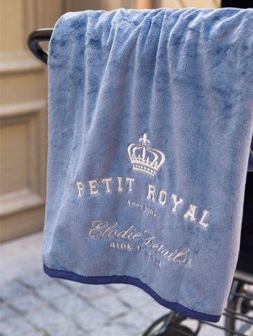 """Плед Elodie Details """"Petit Royal Blue""""            Плед из двухслойной тканиидеально подойдет для коляски, будет очень удобен на пикнике, а также дома, когда малыша нужно укутать во что-то теплое.Приятный на ощупь материал пледа, сочетающий в себе мягкость плюша и нежность бархата, изготовлен по новейшим технологиям и обладает влагопоглощающей способностью. Важно отметить, что при многократной машинной стирке детское одеяло не изменит своего первоначального вида: не """"сядет&quo..."""