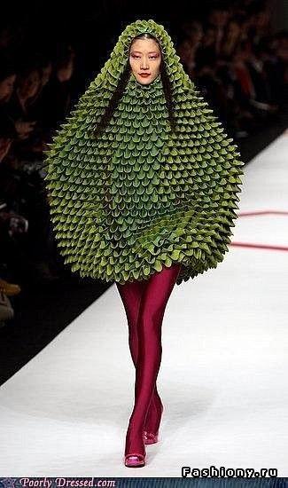 необычная одежда