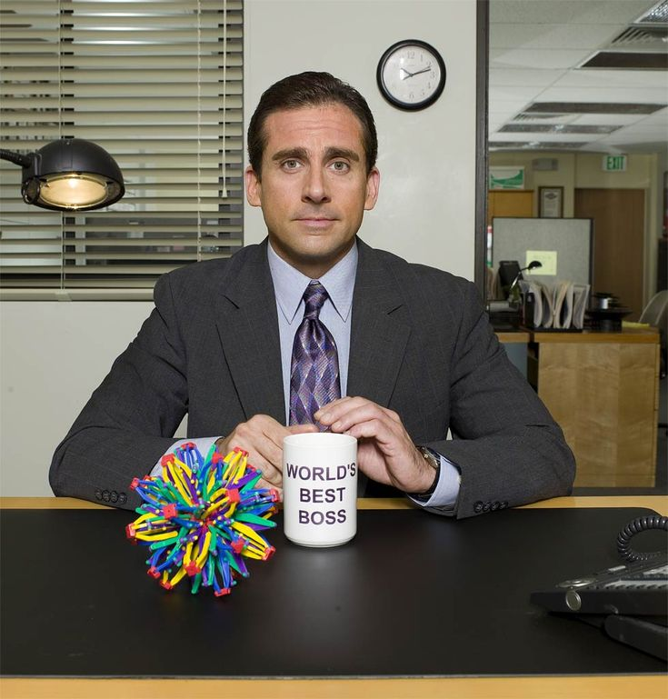 Steve Carell. The boss we all want but should never have.