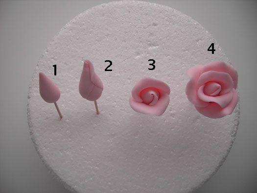 How to make a sugar rose 1