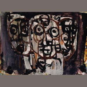 Ian Fairweather (1891-1974) Night life 1962