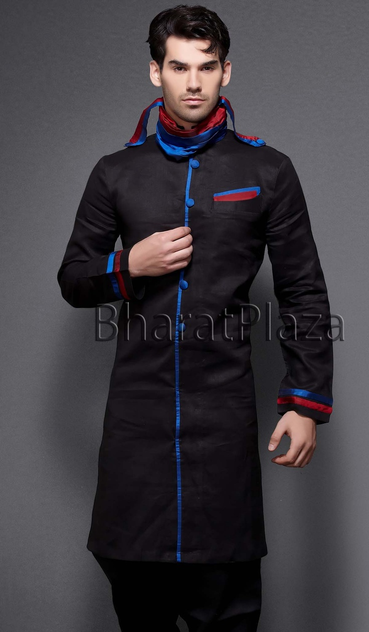 Groom kurta suits black wedding kurta designs asifa and nabeel men - Buy Designer Kurta Pajama Online In Uk Kurta Pyjama And Designer Eid Pathani Suit For Men With Prices Available In All Sizes And In Many Colors Designs