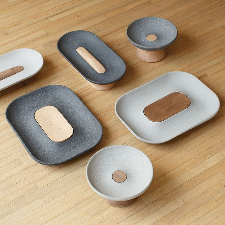 Spanish-Mexican studio LaSelva has released a collection of small concrete accessories for the home in collaboration with designer Iván Zúñiga