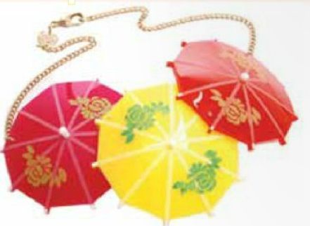 Cocktail Umbrella Large Necklace £105 - SS10 Sundae Best